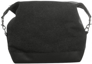 toilet bag, black