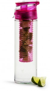 fresh bottle with fruit piston, pink