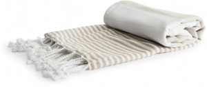 hamam towel eco cotton beige 90x170