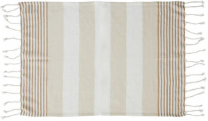 hamam towel eco cotton beige 50x70