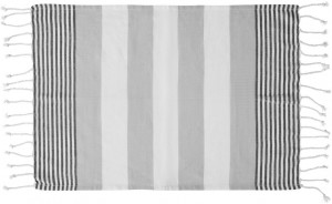 hamam towel eco cotton grey 50x70