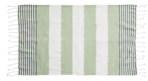 hamam towel eco cotton green 50x70