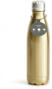 steel bottle gold, 50cl, 16/8h