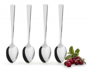 spoon 4-pack, silver