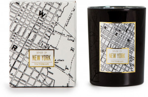 candle maps new york, black